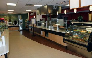 Holy Name Medical Center Servery and Cafeteria