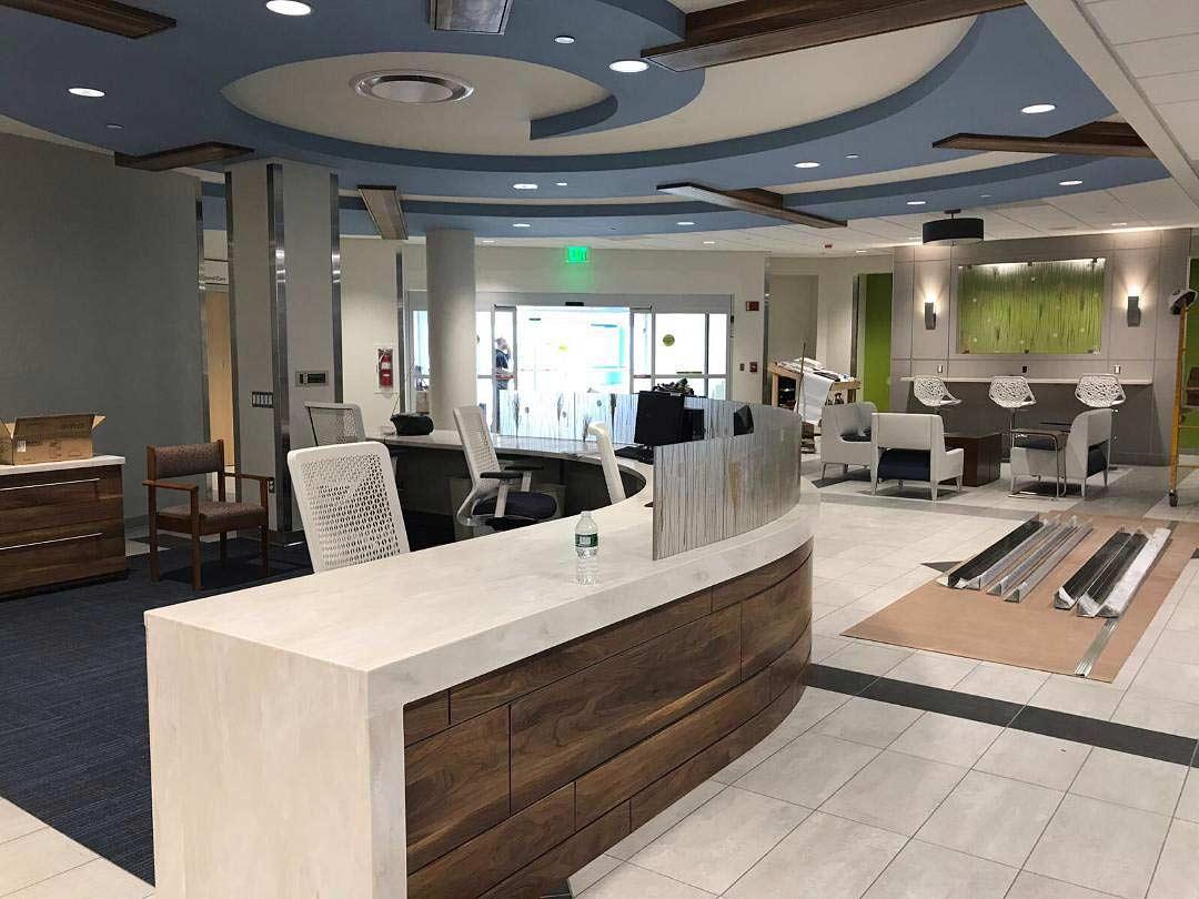 Southern Ocean Medical Center Lobby Renovation Phoenix